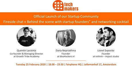 Official Launch of our Startup Community tickets