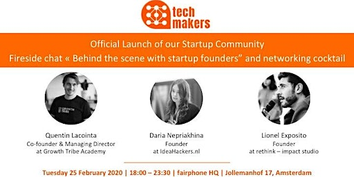 Official Launch of our Startup Community