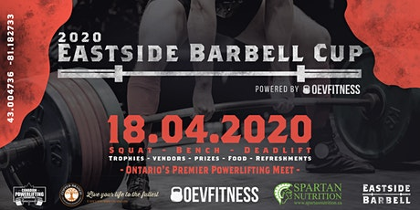 2020 Eastside Barbell Cup Powered By OEVFITNESS tickets