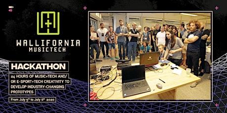 Wallifornia MusicTech - Hackathon 2020 billets
