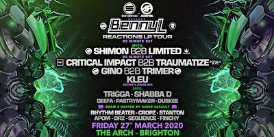 Benny L - Reactions Album Tour - Brighton