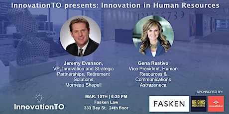 InnovationTO presents: Innovation in Human Resources tickets