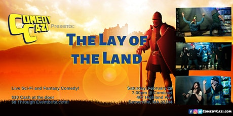 ComedyCazi presents: The Lay of The Land tickets