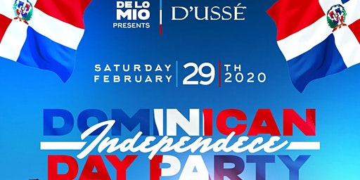 DeLoMio presents: Dominican Independence Day Party