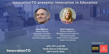 InnovationTO presents: Innovation in Education tickets