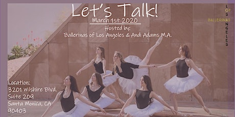 Let's Talk! (Ages 18 and up) tickets