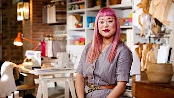 Designer Zoë Carol Wong, Sewing Retreat at Wells House & Gardens.
