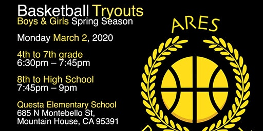 AAU Basketball Tryouts