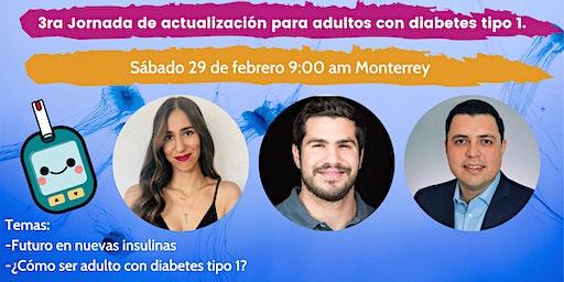 3ra Jornada de actualización para adultos que viven con diabetes tipo 1.