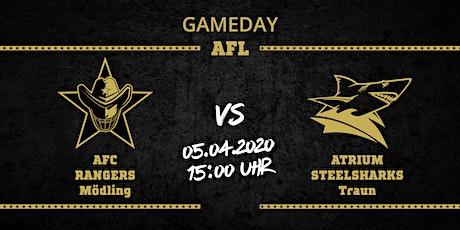 AFC RANGERS Mödling vs ATRIUM Steelsharks Traun Tickets