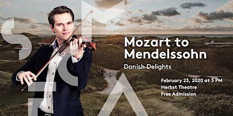 Mozart to Mendelssohn - Danish Delights tickets
