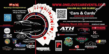 Cars & Cards tickets