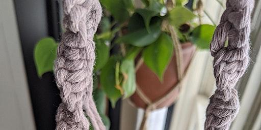 Macrame Plant Hanger Make and Take Workshop