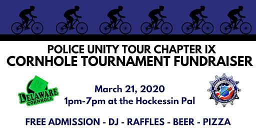 Cornhole Tournament Fundraiser: Police Unity Tour Chapter IX