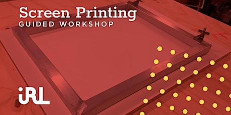 Screen Printing Workshop tickets