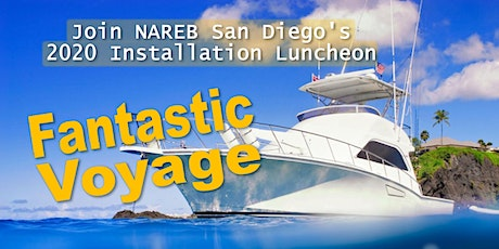 """Fantastic Voyage"" NAREB 2020 Installation & Awards Luncheon tickets"