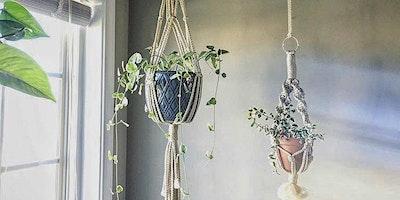 Wine & Design: Macramé Plant Hanger