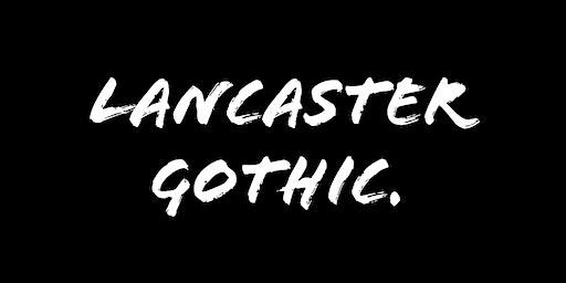 Lancaster Gothic.