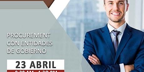 procurement summit - haciendo negocios con el gobi tickets