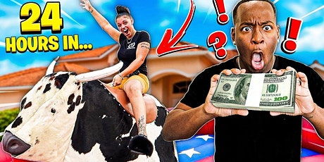 Ride the Mechanical Bull for free cash prizes! tickets