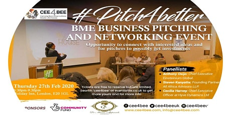 Cee4Bee BME Business Pitching and Networking Event  tickets