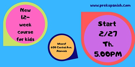 New Spanish Classes for Kids tickets