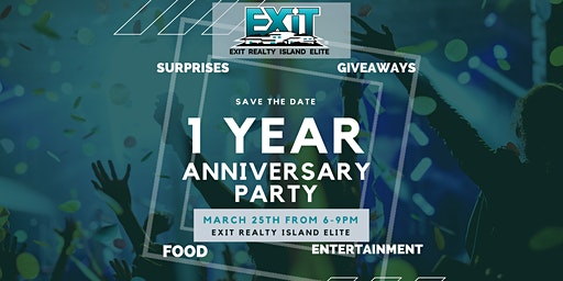 EXIT Realty Island Elite's One Year Anniversary Celebration