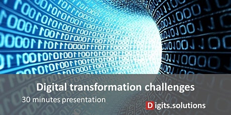Presentation of the Digital transformation challenge for Company tickets