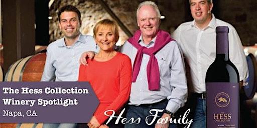 Winery Spotlight Tasting featuring Hess Family Wines