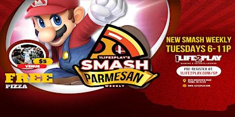Smash Parmesan tickets