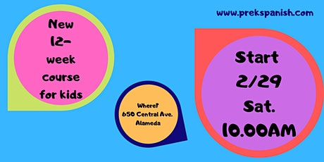 New Spanish Class for Kids! tickets