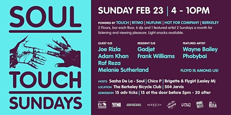 Soul Touch Sunday tickets