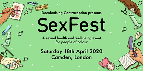 SexFest - a sexual health and well-being festival for people of colour tickets