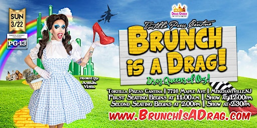 Brunch is a Drag - The Drag Queens of OZ!