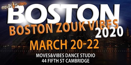 Boston Zouk Vibes Weekender March 20-22 tickets