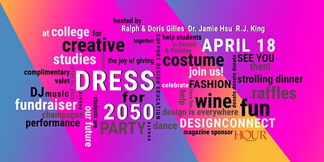 """DRESS FOR 2050"" Futuristic Costume Gala tickets"