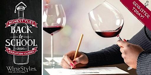 Red Wine Education & Tasting