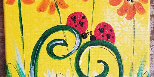 3/14 $22 Lovebug @ Paint Like ME Studio