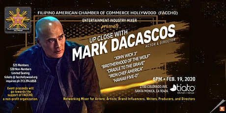 Entertainment Industry Mixer with Mark Dacascos, Actor and Director tickets