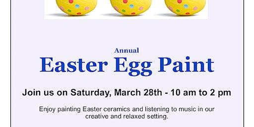 Annual Easter Egg Ceramic Paint