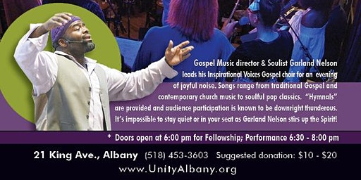 Garland Nelson and a Joyful Noise Live at Unity Albany