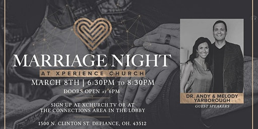 Marriage Night at Xperience Church