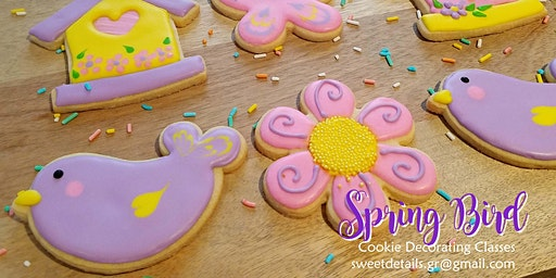 Spring Bird Cookie Decorating Class