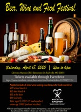 Beer, Wine & Food Festival At Glenview Mansion in Rockville tickets