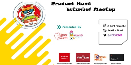 Product Hunt İstanbul Meetup tickets