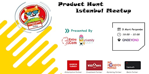Product Hunt İstanbul Meetup