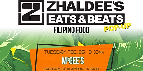Zhaldee's Eats And Beats Pop Up tickets