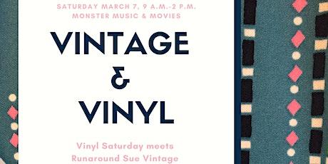 Vintage & Vinyl: 20% Off Vinyl and Vintage Clothing Market tickets