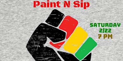 Black History Month Paint N' Sip with Bert Corbin