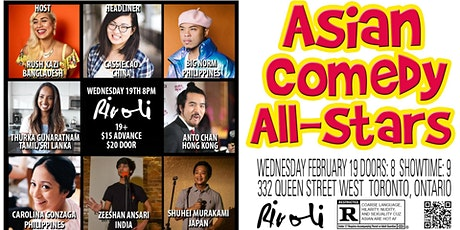 Asian Comedy All-Stars with Cassie Cao! tickets